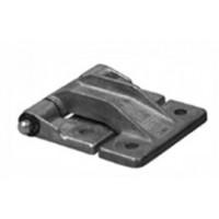 ISO40 / ISOGST Middenscharnier (deur met vingerknel)